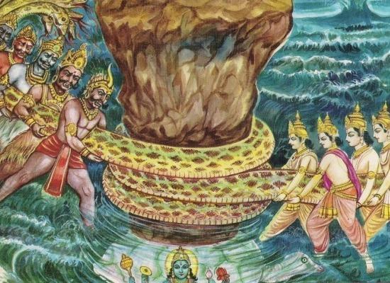Samudra Manthan Story in Hindi