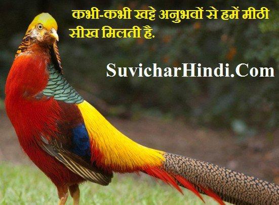 31 बेहतरीन विचार हिन्दी में - Good Inspirational Thoughts in Hindi And English