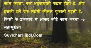 मूर्खता पर 18 विचार - Foolish Quotes in Hindi Language Unique Cool