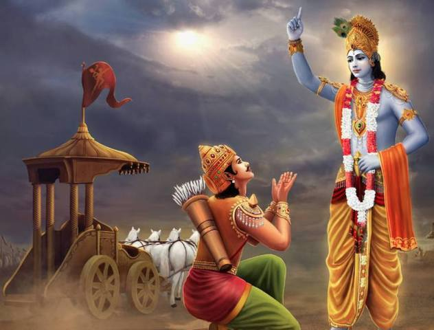 Shrimad Bhagwat Geeta Saar in Hindi - श्रीमद्भागवत गीता का सार