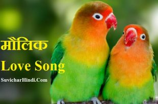 Love Song Lyrics in Hindi प्रेम पर Lovely गीत