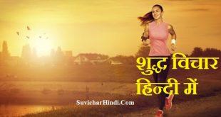 शुद्ध विचार हिन्दी में - Shudh Vichar in Hindi Font pure hindi quotes thoughts