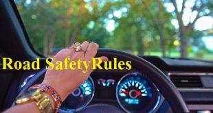 सड़क सुरक्षा के सामान्य नियम - Road Safety Rules in Hindi Language Font